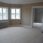Vardagsrummet efter renovering