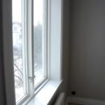 Fönsterfoder och fönsterbräda