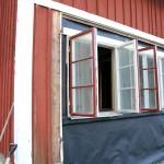 Fönster på plats